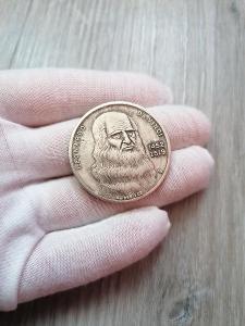 Pamětní mince - LEONARDO DA VINCI 1452-1519 - OD 1KČ!