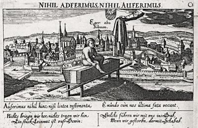 Cheb, Meissner, mědiryt, 1678
