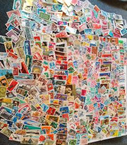 Každá jiná - poštovní známky DDR 485ks