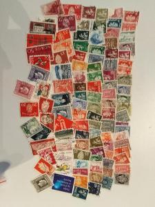 Každá jiná - poštovní známky  Norska 109ks