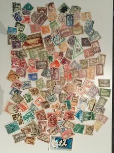 Každá jiná - poštovní známky Maďarska 164ks