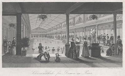 Paris bazén, Winkles, oceloryt, 1830