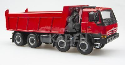 Kaden Tatra Terrno 8x8 červená sklopka 1:43