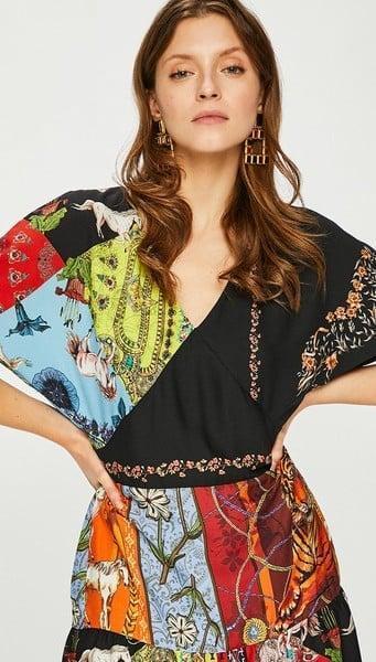 Desigual vest_Nanuk luxusní šaty/ 42(m-l) nové 1,-