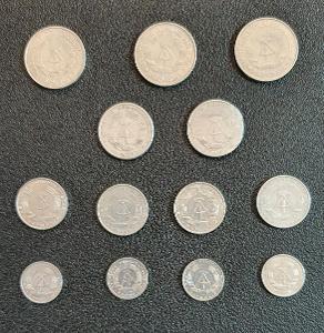 13ks mince NDR Marka, Pfennig