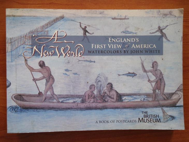 A New World - England ´s first view of America - Antikvariát