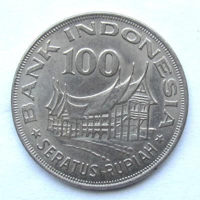 Indonésie 100 rupií 1978