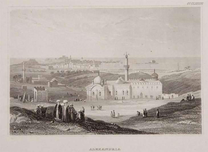 Alexandria, Meyer, oceloryt, 1850 - Antikvariát