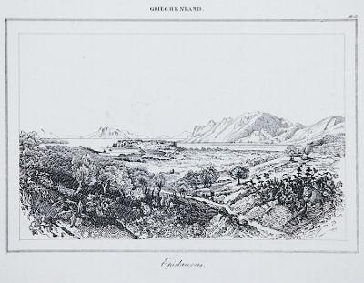 Epidarus, Le Bas, oceloryt 1840