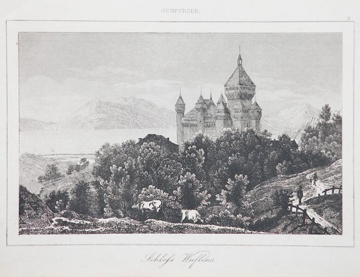 Wuflens, Le Bas, oceloryt 1842 - Antikvariát