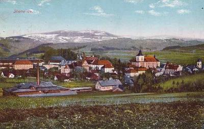 JILEMNICE - CELKOVÝ POHLED -253-SQ89
