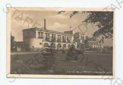 Lázně Velichovky Náchod Masarykův dům Bromografia