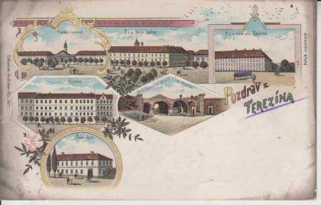 Terezín (Theresienstadt) - Parádní náměstí, kasárn