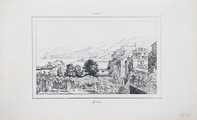 Genua, Le Bas, oceloryt 1840