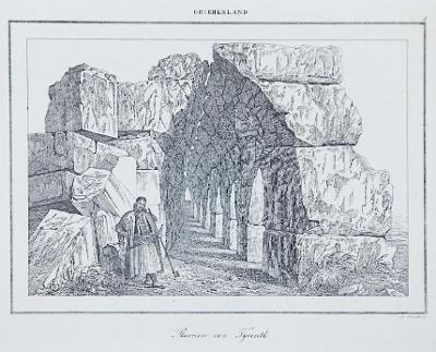 Tyrinth, Le Bas, oceloryt 1840