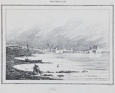 Sidon, Le Bas, oceloryt 1840