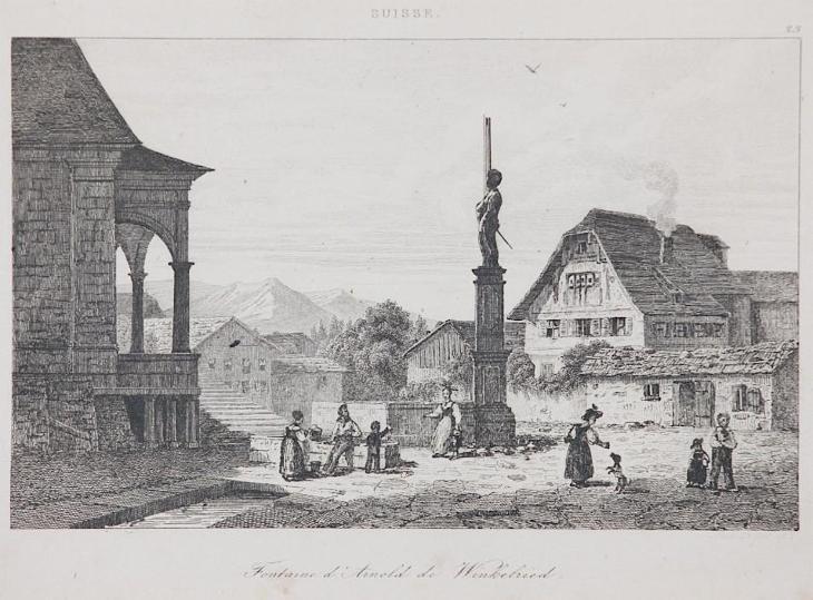 Winkelried, Le Bas, oceloryt 1842 - Antikvariát