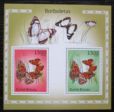 Guinea-Bissau 2010 Motýli Mi# Block 876 Kat 12€ 1816