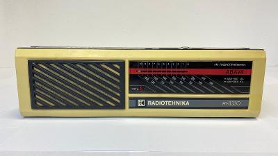 Starší rádio ABAVA Radiotechnika RP 8330
