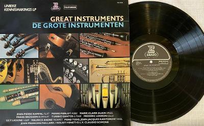 Various Artists - Great Instruments - De Grote Instrumenten