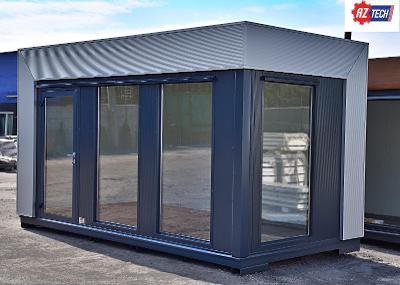 RYCHLÉ DORUČENÍ Zahradní kontejner / konstrukční kontejner 5,0 x 2,5 m