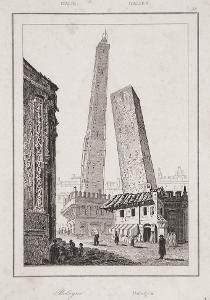 Bologna, oceloryt 1840