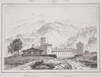 Vallombrosa, Le Bas, oceloryt 1840