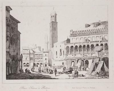 Padua, Le Bas, oceloryt 1840