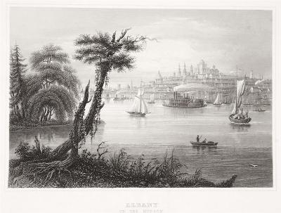 Albany, Meyer, oceloryt, 1850