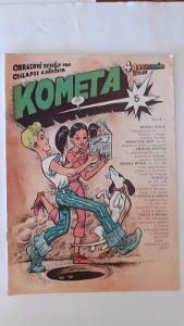 Komiksový časopis Kometa 5