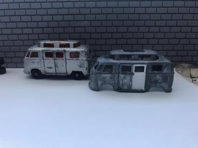 Matchbox Volkswagen Camper Dvířka opravná sada!