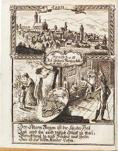 Louny, Zittauisches ..,  mědiryt, 1792