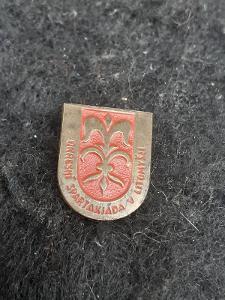 Odznak OKRESNÍ SPARTAKIÁDA V LITOMYŠLI