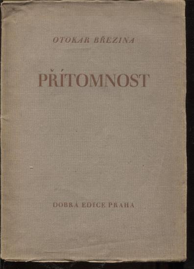 Přítomnost (Dobrá edice) - Knihy