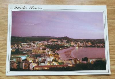 Pohled Mallorka - Santa Ponsa