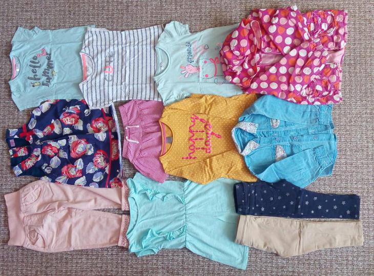 Set dětského dívčího oblečení  86-110 - Oblečení