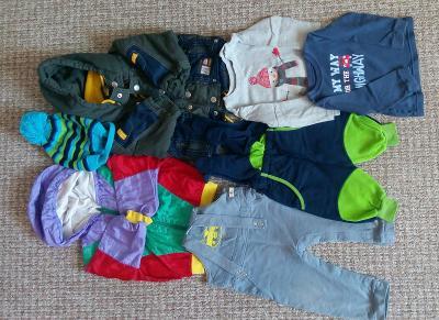 Set dětského chlapeckého oblečení  74-86