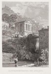Spoleto , Haase , oceloryt, 1840
