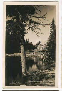Javorské jezero, Bavorsko, Železná Ruda, Klatovy, Šumav
