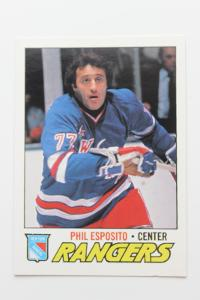 Phil Esposito New York Rangers O-Pee-Chee