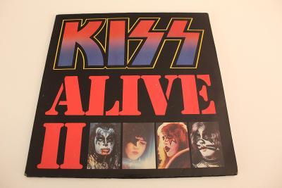 Kiss - Alive II -výb. stav- Holland 1977 LP