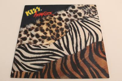 Kiss - Animalize -top stav- Holland 1984 LP