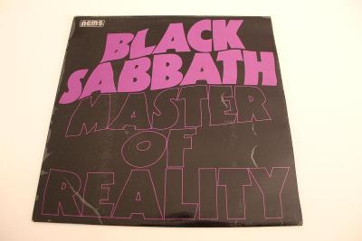 Black Sabbath - Master of Reality -top stav- Holland  1976 LP