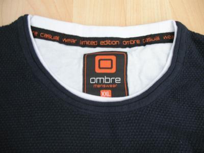 Nové pánské triko originál Ombre menswear vel XL