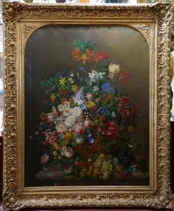 F. van Geit - Květinové zátiší