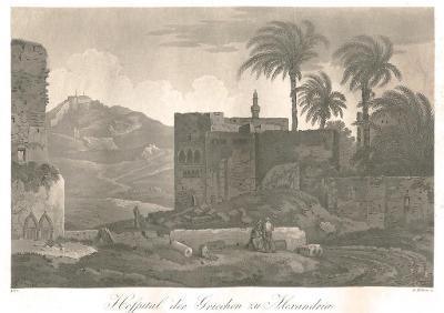 Alexandria , Döbler , akvatinta, 1819