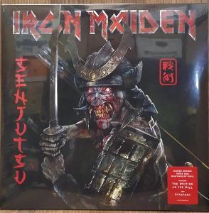 3LP vinyl Iron Maiden Senjutsu