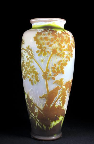 Émile Gallé - secesní váza