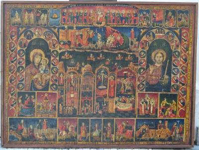 Ikonopisný obraz - Starý a Nový zákon