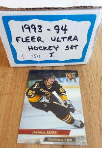 Kompletní set karet Fleer ultra 93/94 Série 1 (250 karet)